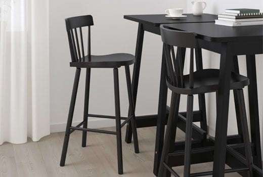 Bar Tables & Bar Stools – Ikea Within Laurent 5 Piece Round Dining Sets With Wood Chairs (View 3 of 25)