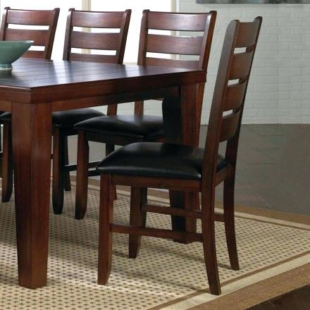 Bardstown Dining Set Crown Mark 8 Piece Dining Set In Espresso For Bradford 7 Piece Dining Sets With Bardstown Side Chairs (Image 7 of 25)
