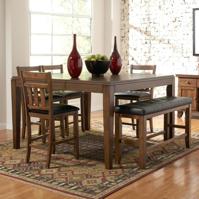 Bardstown Dining Set Home Creek 6 Piece Counter Height Dining Table Intended For Bradford 7 Piece Dining Sets With Bardstown Side Chairs (View 8 of 25)