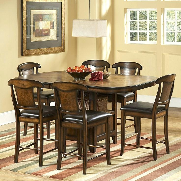 Bardstown Dining Set Home Creek 6 Piece Counter Height Dining Table With Regard To Bradford 7 Piece Dining Sets With Bardstown Side Chairs (View 19 of 25)