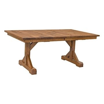 Barn Floor Plank Table | Dining Tables | Barn Furniture – Craftsman Regarding Craftsman Rectangle Extension Dining Tables (View 24 of 25)