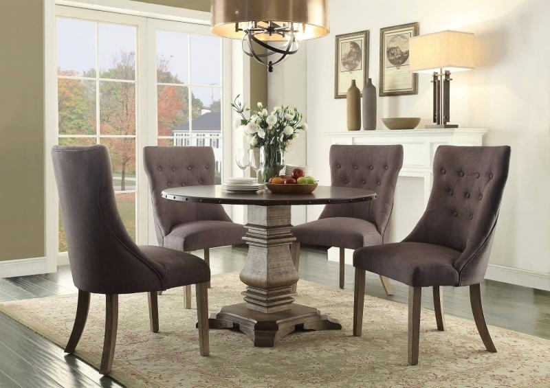 Barron's Furniture And Appliance – Regular Height Dining And Servers Within Market 7 Piece Dining Sets With Host And Side Chairs (Image 2 of 25)