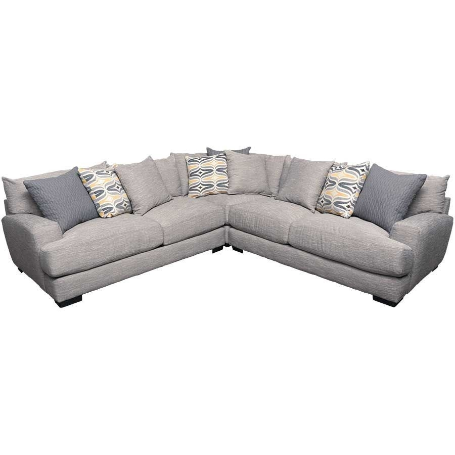Barton 3Pc Sectional Sofa | G 808 3Pc | 80859 80860 80804 | Franklin Regarding Burton Leather 3 Piece Sectionals With Ottoman (Image 3 of 25)