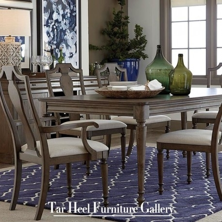Bassett Furniture Provence Rectangular Dining Table Pertaining To Provence Dining Tables (View 5 of 25)