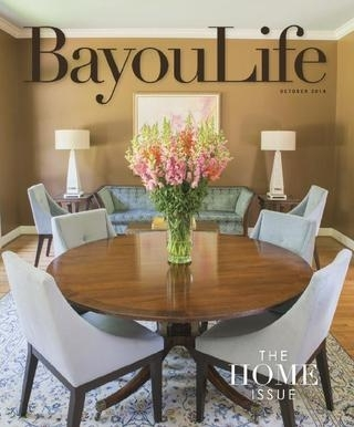 Bayoulife October 2014Bayoulife Magazine – Issuu Throughout Bale Rustic Grey 7 Piece Dining Sets With Pearson White Side Chairs (Image 10 of 25)