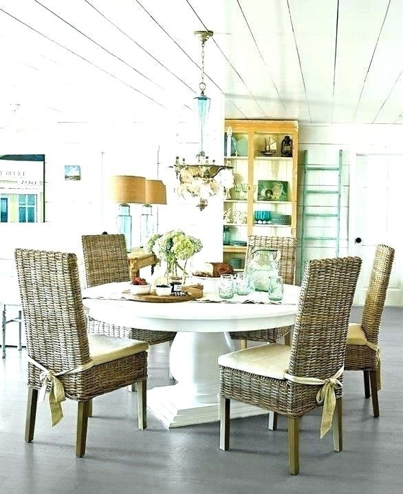 Beach Dining Table Beach Beech Wood Dining Table And Chairs Pertaining To Coastal Dining Tables (Image 5 of 25)