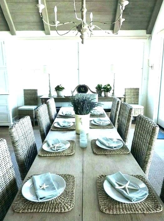 Beach Dining Table Beach Dining Room Sets Coastal Dining Table Beach Intended For Coastal Dining Tables (View 21 of 25)