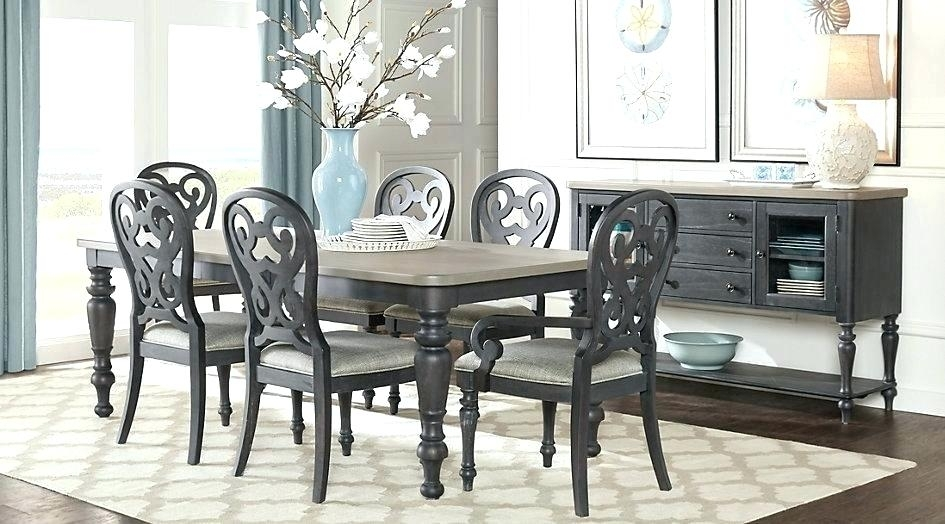 Beach Style Dining Table Coastal Dining Table Full Size Of Dining Regarding Coastal Dining Tables (Image 8 of 25)