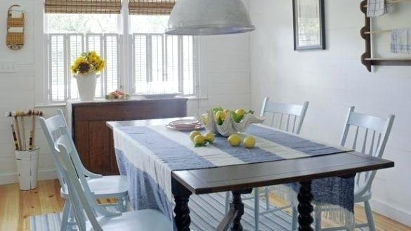 Beachy Dining Room Tables Interior Design For Beach Dining Table At Inside Coastal Dining Tables (View 9 of 25)