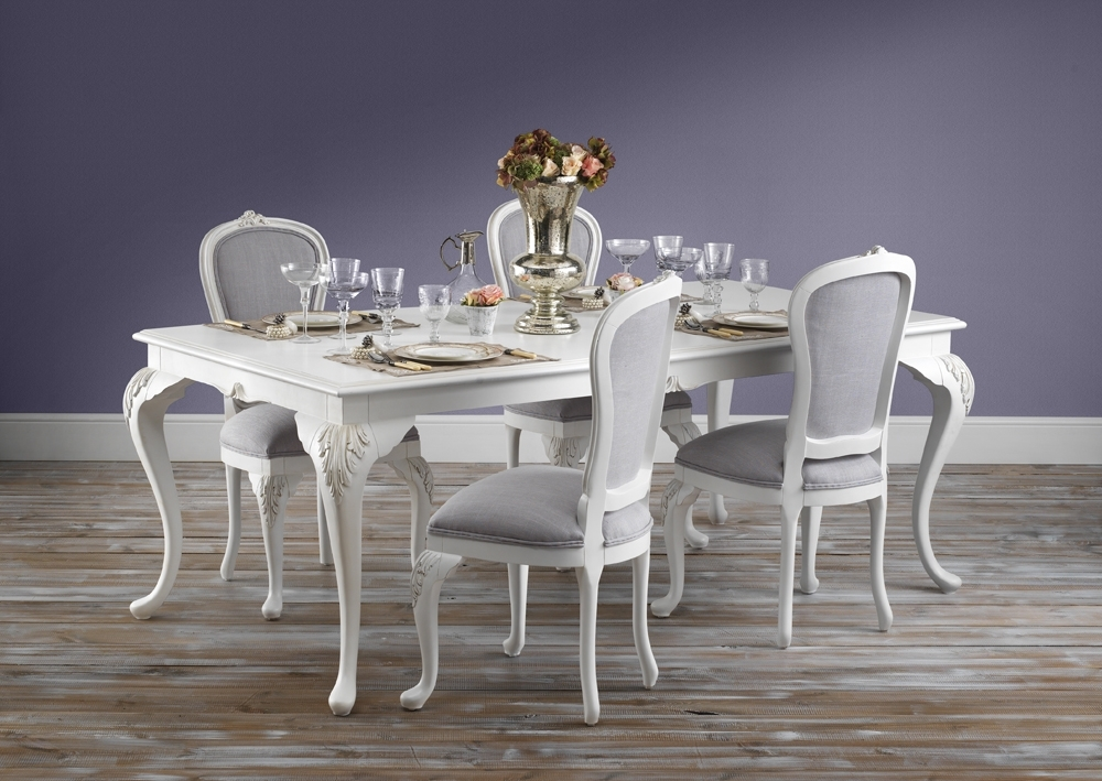 Beaulieu Carved French Style Dining Table From Crown French Furniture – With Regard To French Country Dining Tables (View 12 of 25)