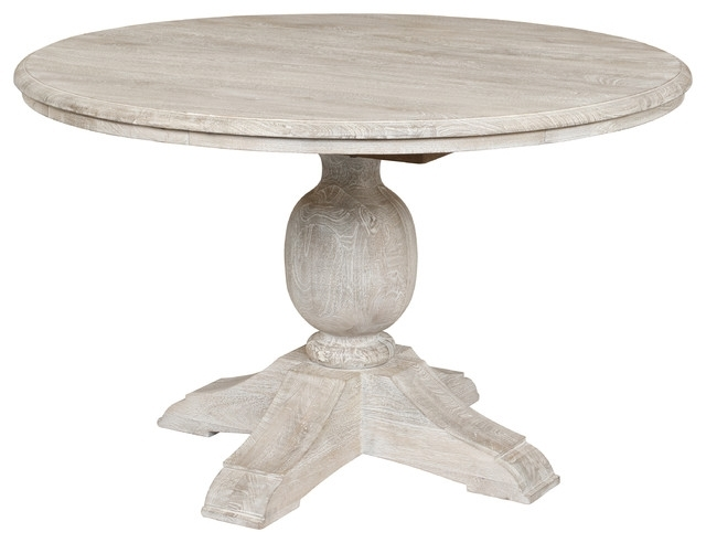 Beaumont Wooden Table – Farmhouse – Dining Tables  Kosas Throughout Valencia 5 Piece 60 Inch Round Dining Sets (Image 8 of 25)