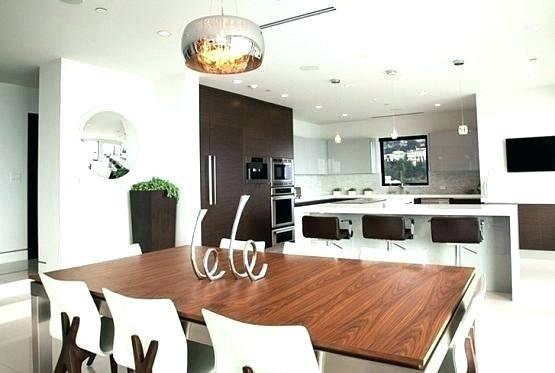 Beautiful Lighting Above Kitchen Table | Kitchen Ideas With Dining Tables Lighting (Image 4 of 25)