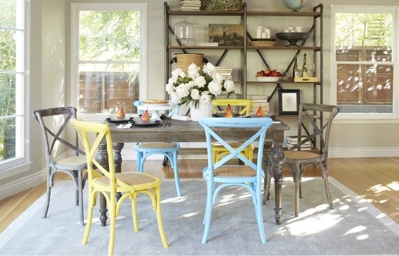 Beautiful Shabby Chic Furniture & Decor Ideas  Overstock Pertaining To Shabby Chic Cream Dining Tables And Chairs (Image 5 of 25)