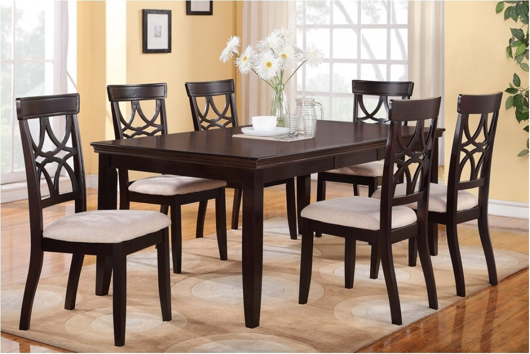 Beautifull Fancy Dining Table Set 6 Chairs 38 Small Kitchen Ideas For 6 Chairs Dining Tables (Image 11 of 25)