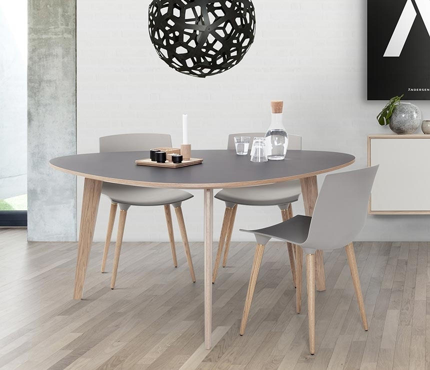 Beautifully Quirky Danish Dining Table | T8 | Wharfside Regarding Danish Dining Tables (View 20 of 25)