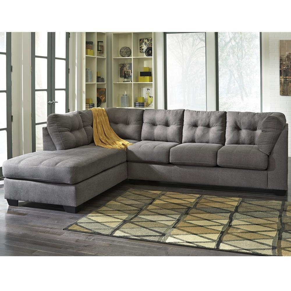Beige – Sectionals – Living Room Furniture – The Home Depot In Jobs Oat 2 Piece Sectionals With Left Facing Chaise (Image 4 of 25)