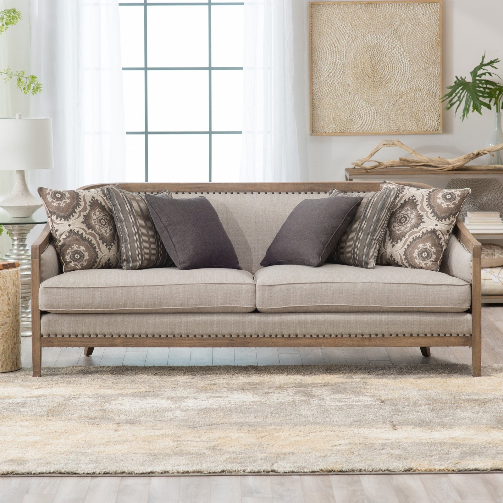 Belham Living Harper Sofa | Hayneedle In Harper Down 3 Piece Sectionals (Image 6 of 25)