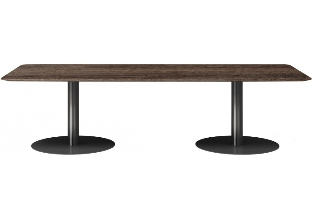 Bellagio Dining Pewter Minotti Table – Milia Shop Within Bellagio Dining Tables (View 13 of 25)