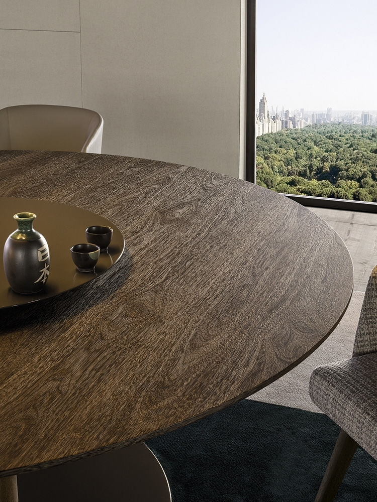 """Bellagio """"dining"""" Wood Inside Bellagio Dining Tables (Image 3 of 25)"""