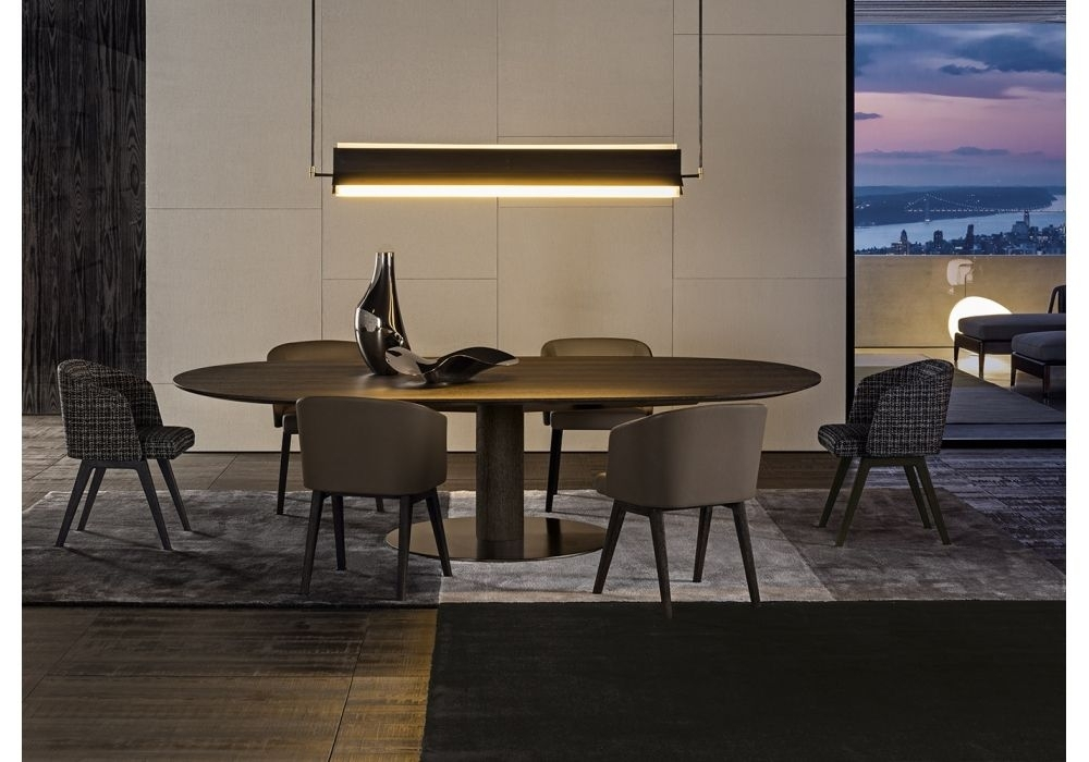 Bellagio Dining Wood Minotti Table | Restaurant 餐厅 | Pinterest Pertaining To Bellagio Dining Tables (View 2 of 25)