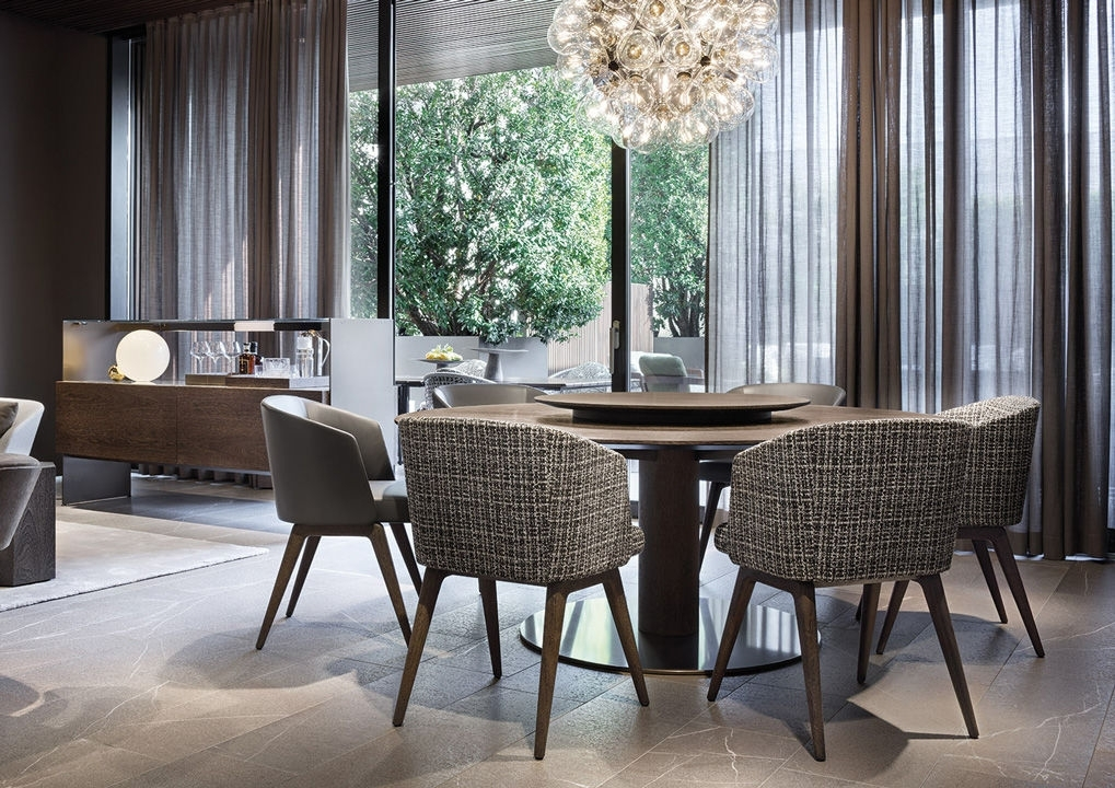 """Bellagio """"dining"""" Wood Within Bellagio Dining Tables (Image 4 of 25)"""