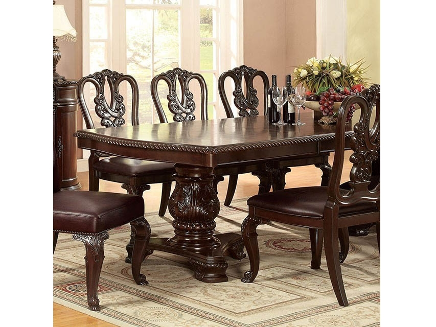 Bellagio Fomal Dining Table – Shop For Affordable Home Furniture For Bellagio Dining Tables (Image 16 of 25)