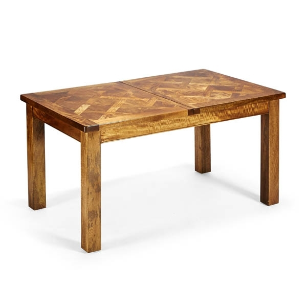 Bellagio Parquetry Extension 150Cm Table Within Bellagio Dining Tables (Image 18 of 25)