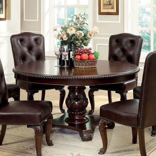 Bellagio Round Dining Table – Dining Room And Kitchen Furniture – Dining With Regard To Bellagio Dining Tables (View 22 of 25)