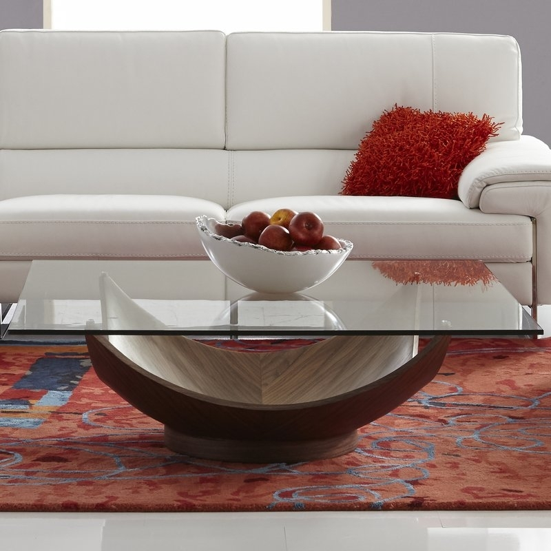 Bellini Modern Living Candice Coffee Table & Reviews | Wayfair Regarding Candice Ii 5 Piece Round Dining Sets (Image 5 of 25)