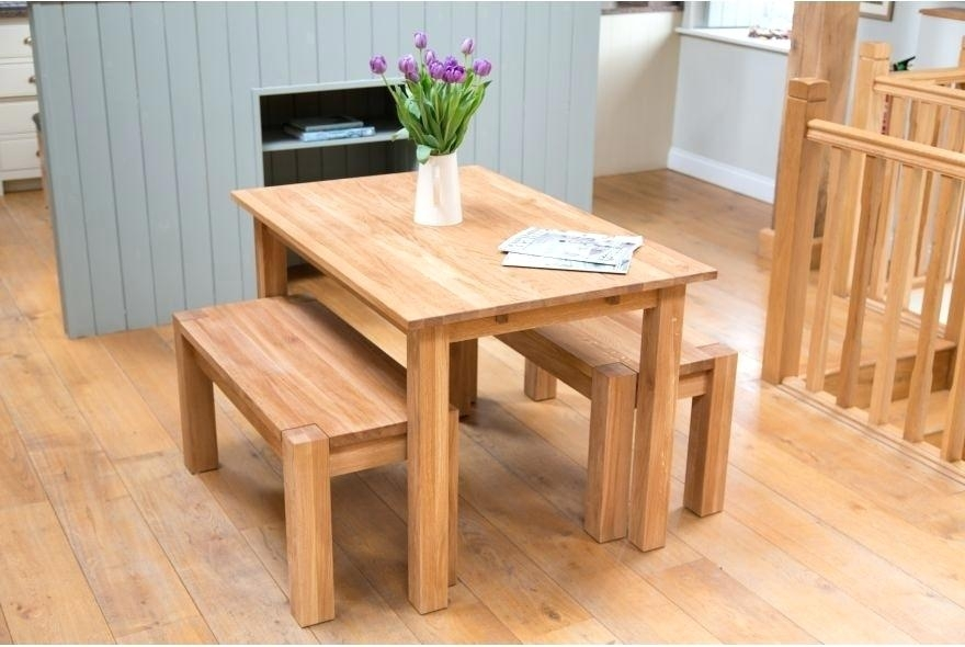 Bench Set Dining Table – Purport Intended For Small Dining Tables And Bench Sets (Image 6 of 25)