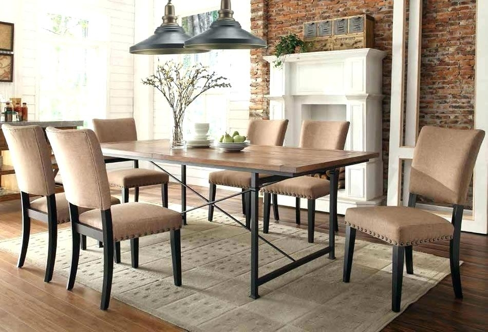 25 choices of industrial style dining tables dining tables ideas. Black Bedroom Furniture Sets. Home Design Ideas