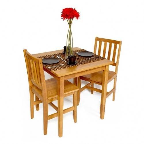 Benson 2 Seater Dining Set Throughout Benson Rectangle Dining Tables (Image 1 of 25)