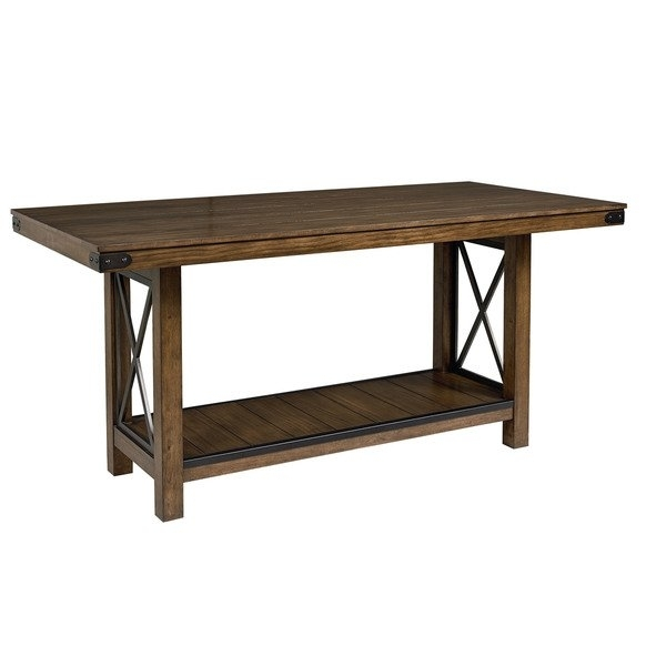 Benson Counter Height Dining Table – Free Shipping Today – Overstock Pertaining To Benson Rectangle Dining Tables (Image 6 of 25)