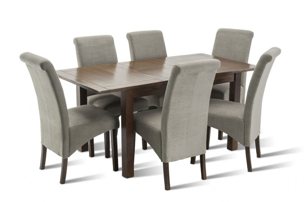 Benson Rich Walnut Dining Table Regarding Benson Rectangle Dining Tables (Image 9 of 25)