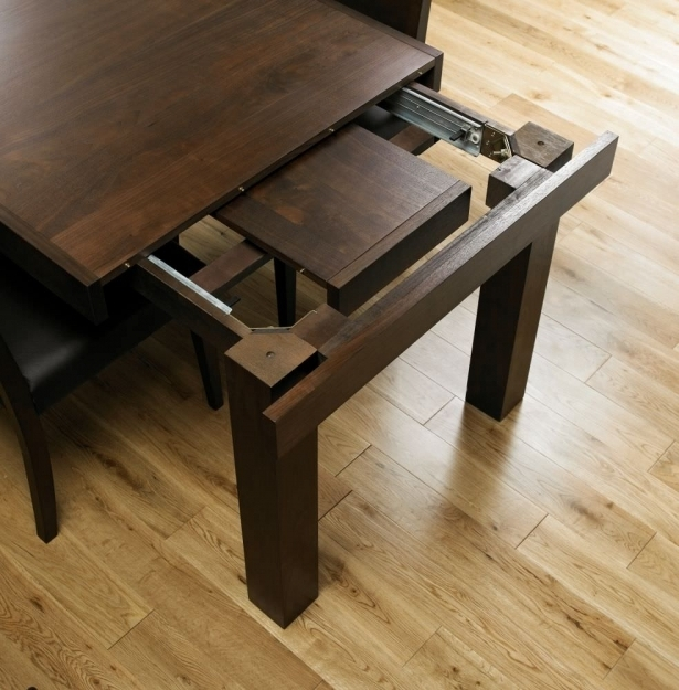 Bentley Designs Akita Walnut R 4 8 Seater Extending Dining Table As For Extendable Dining Tables With 8 Seats (Image 6 of 25)