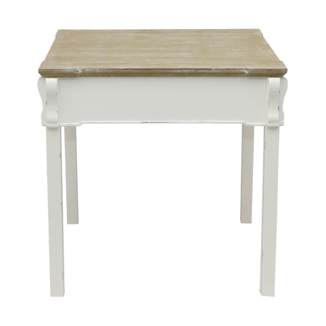Bentley Home Shabby Chic Dining Table Vintage French Style – White Throughout French Chic Dining Tables (Image 2 of 25)