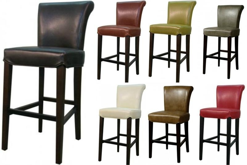 Bentley Leather Counter Stool Pertaining To Valencia 4 Piece Counter Sets With Bench & Counterstool (Image 5 of 25)