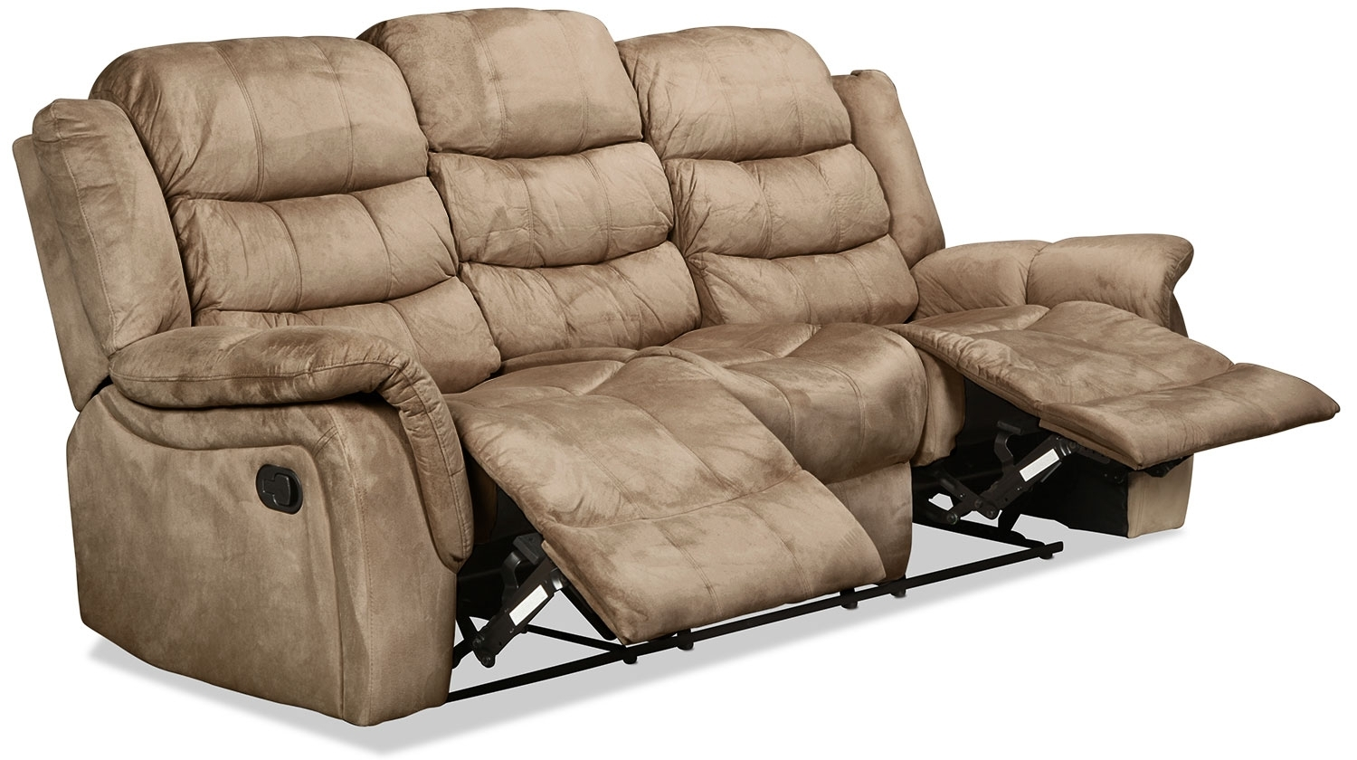 Benton Reclining Sofa – Cobblestone   Intended For Benton 4 Piece Sectionals (Image 7 of 25)