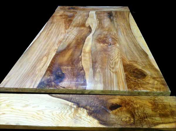 Bespoke Oak & Wooden Dining Tables And Chairs Handmade In The Uk In Tree Dining Tables (Image 4 of 25)