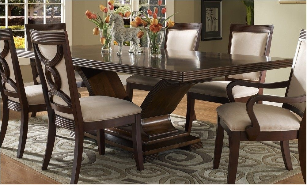Best Dark Wood Dining Room Set Wonderful With Photo Of Dark Wood With Dark Dining Room Tables (Image 3 of 25)