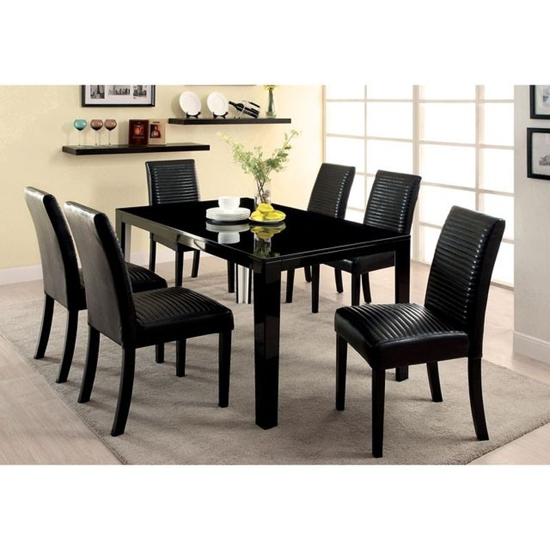 Best Dining Room Tables Near Tempe, Az | Phoenix Furniture Outlet With Regard To Black Dining Tables (Image 4 of 25)
