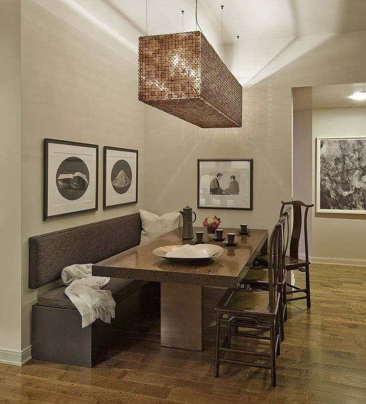 Best + Dining Table With Bench Ideas On Kitchen Dining Room Table Intended For Small Dining Tables And Bench Sets (Image 7 of 25)