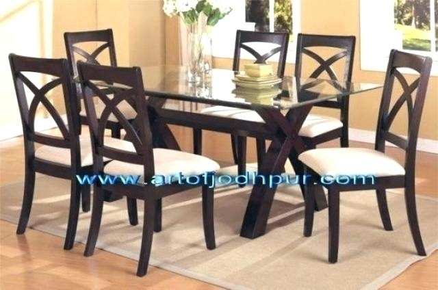 Best Dining Table Wood – Kuchniauani Regarding Wood Glass Dining Tables (Image 2 of 25)