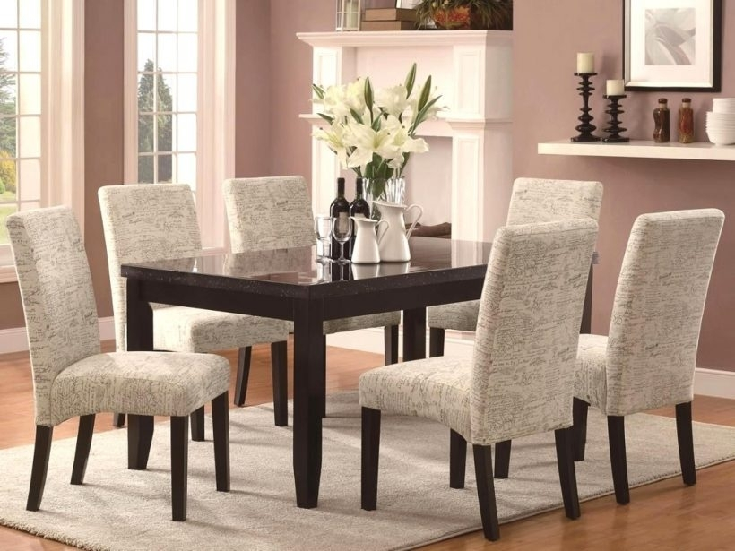 Best Fabric For Reupholstering Dining Room Chairs Lovely Dining Throughout Fabric Dining Room Chairs (Image 1 of 25)