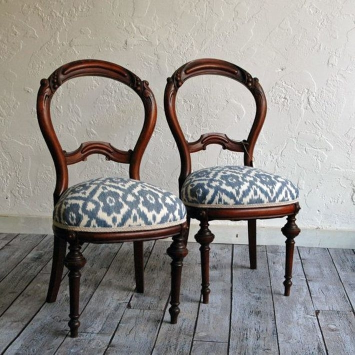 Best Fabrics For Dining Room Chairs | Dining Room | Pinterest Intended For Fabric Dining Room Chairs (Image 2 of 25)