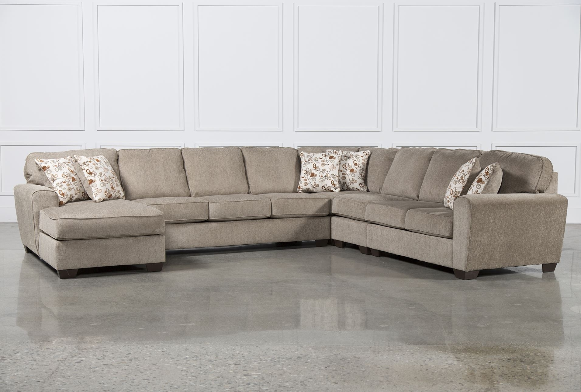 Best Ideas Of Laf Chaise On Gordon 3 Piece Sectional W Laf Chaise With Gordon 3 Piece Sectionals With Raf Chaise (Image 3 of 25)