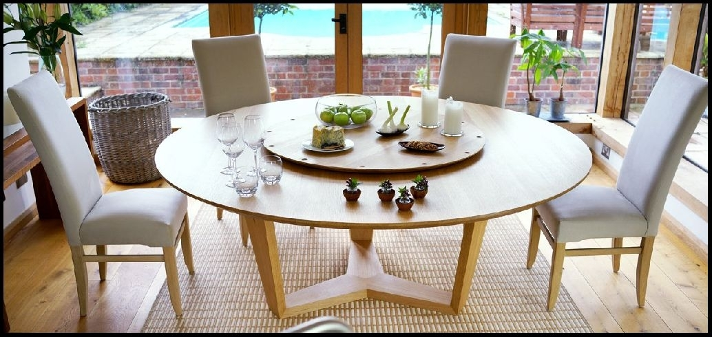 Best Large Round Dining Table | Sitiwhitegroook For Huge Round Dining Tables (Image 4 of 25)