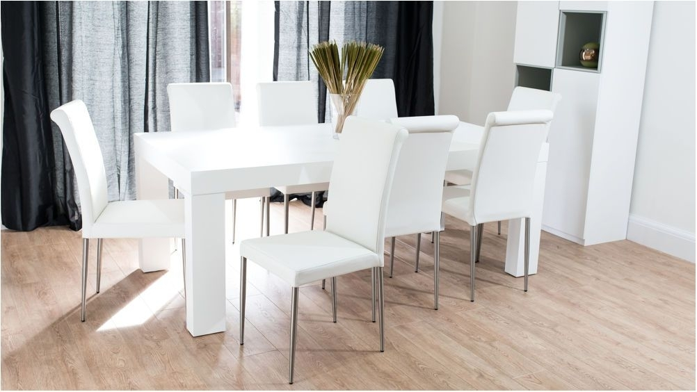 Best Modern White Oak Dining Table Chunky Oak Dining Table – Antique Regarding White Dining Tables Sets (Image 4 of 25)