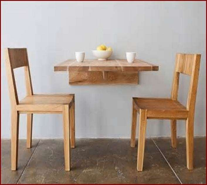 Best Of Folding Dining Table For Small Space Design – Home Interior Throughout Dining Tables With Fold Away Chairs (View 14 of 25)