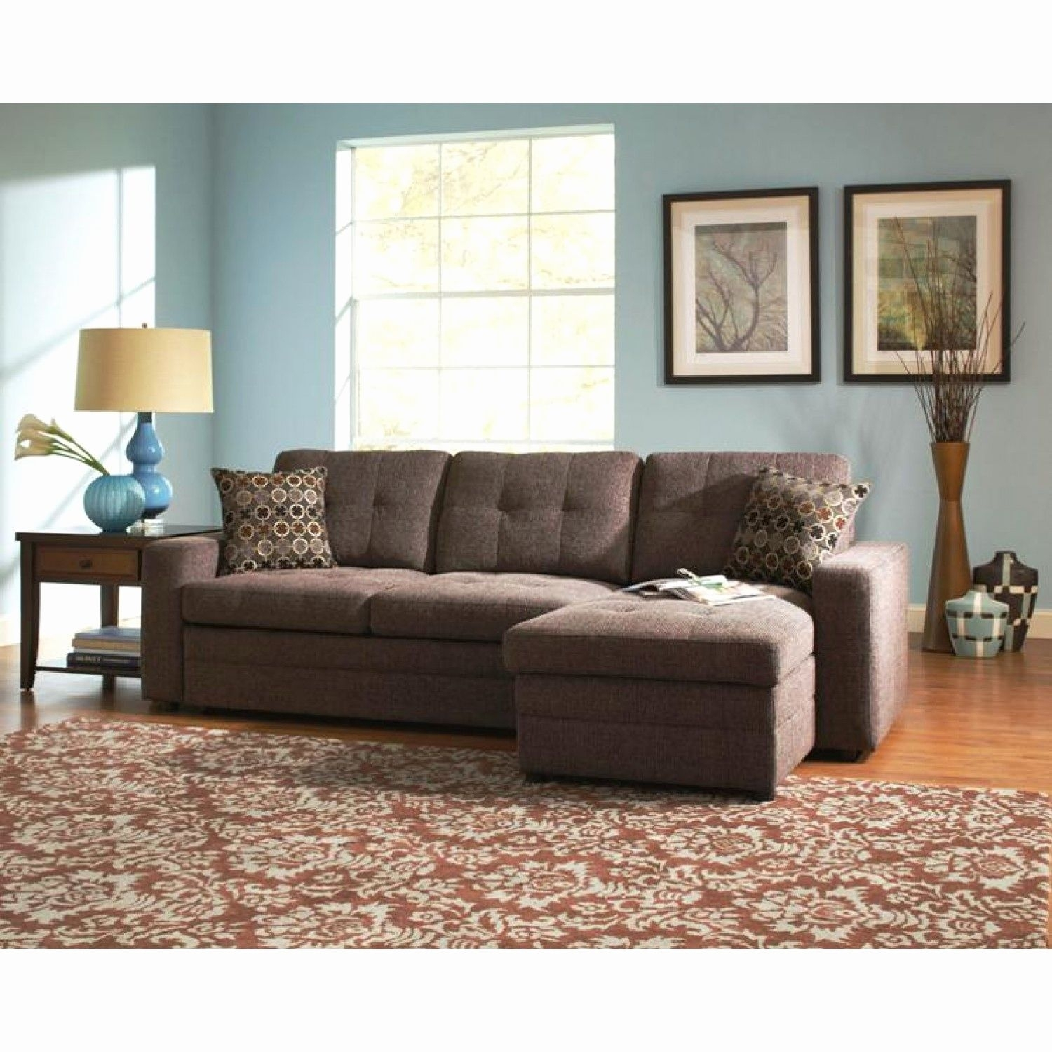Best Of Sectional Sofa Sleepers Pictures Sectional Sofa Sleepers New For Norfolk Chocolate 6 Piece Sectionals With Laf Chaise (View 15 of 25)